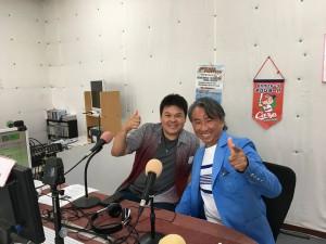 沖縄の二大ラジオをはしごしてきました・・・(笑)